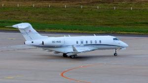 FlyEurope-Bombardier Challenger 350