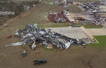 Eufaula: Tornado destroys Alabama Airport Official