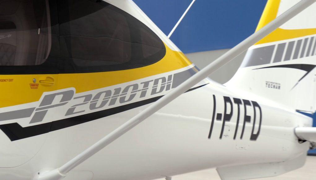 FlyEurope-Tecnam P2010 TDI jet/diesel engine