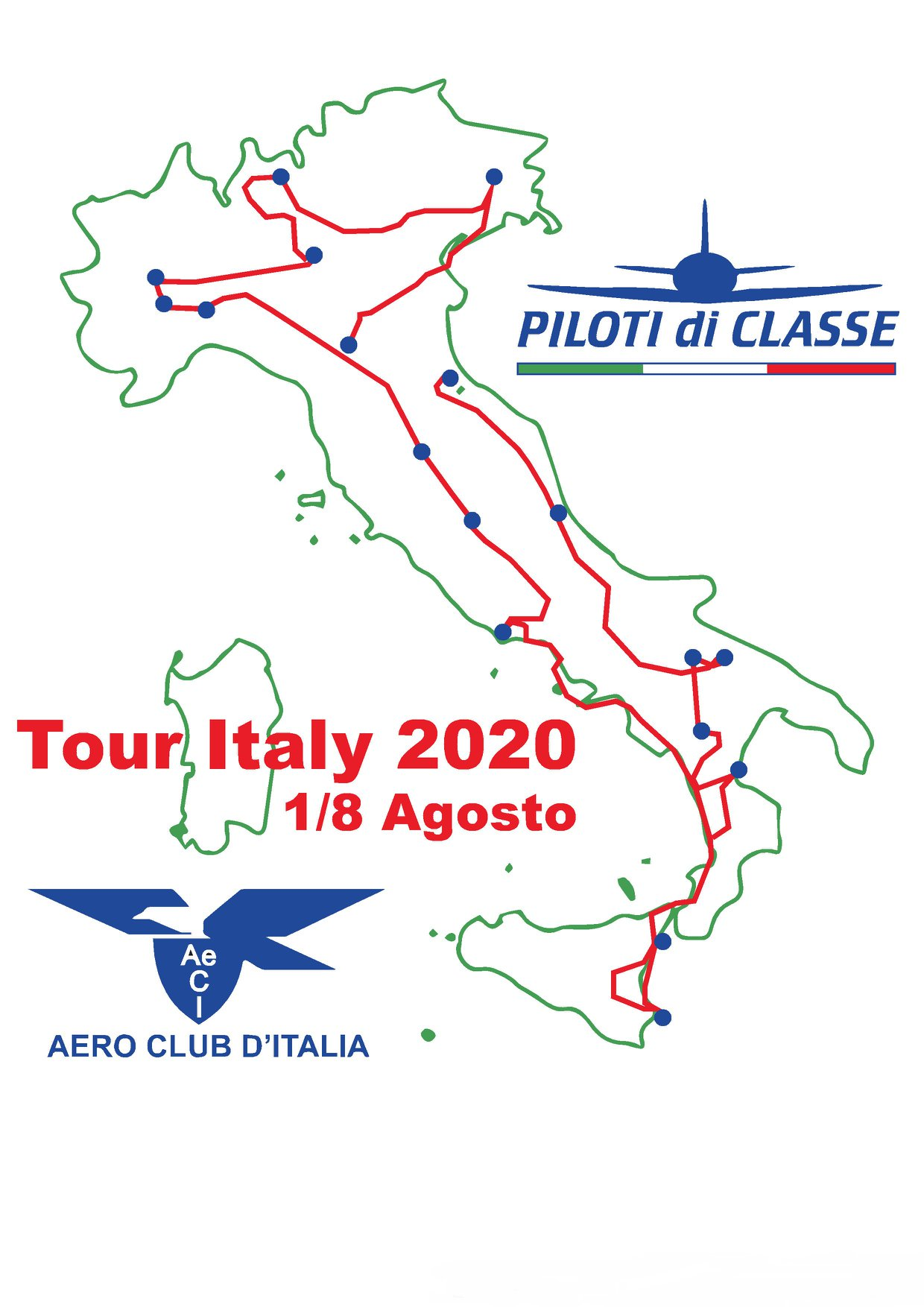 giro d' italia aereo- piloti di classe-flyeurope