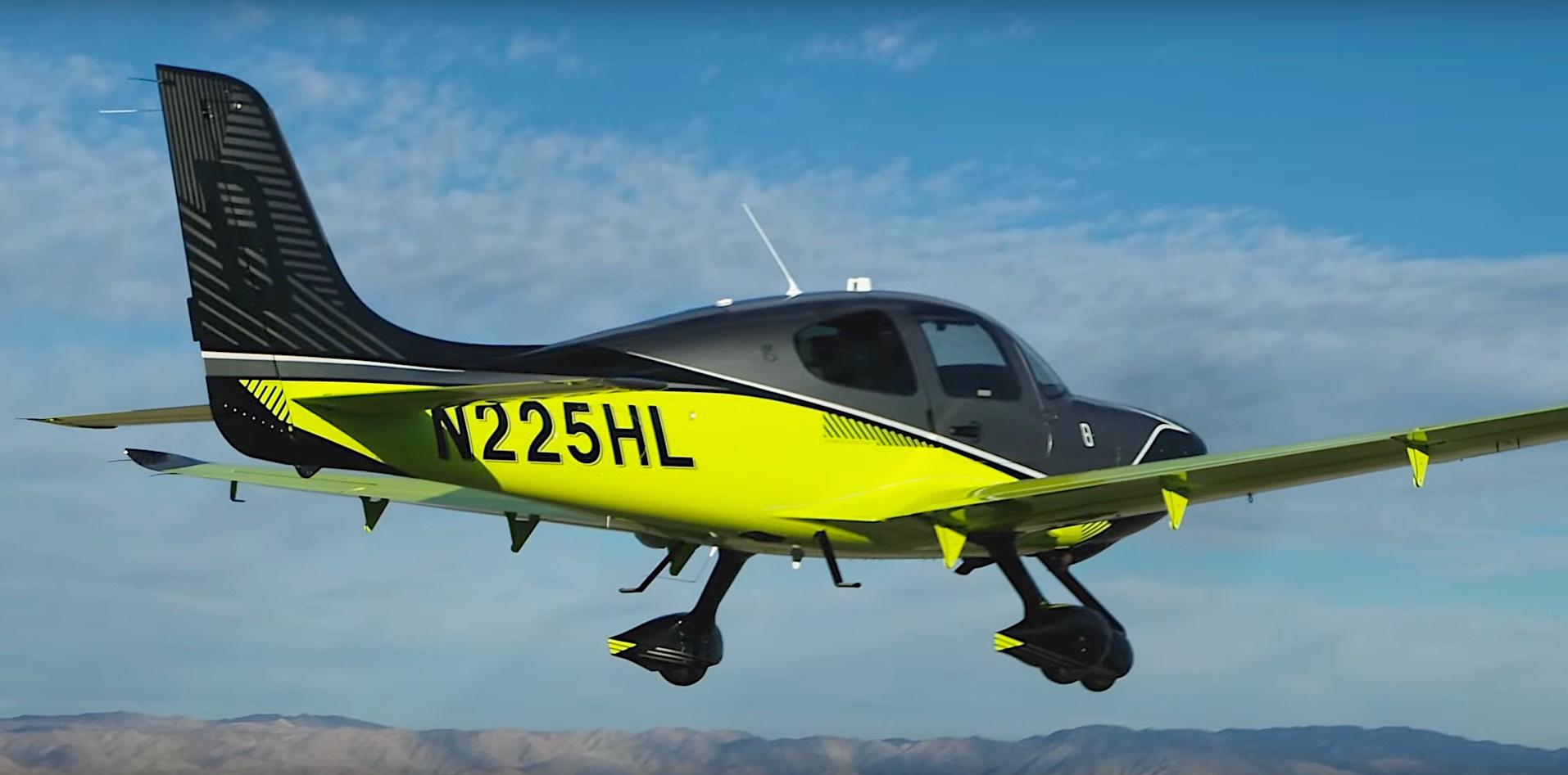 Cirrus 8000 Limited Edition SR-FlyEurope