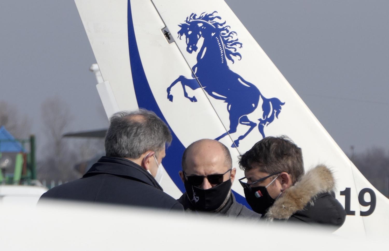 Senatori Briziarelli, Campari e Collina-Avioturismo Emilia Romagna- Flyeurope