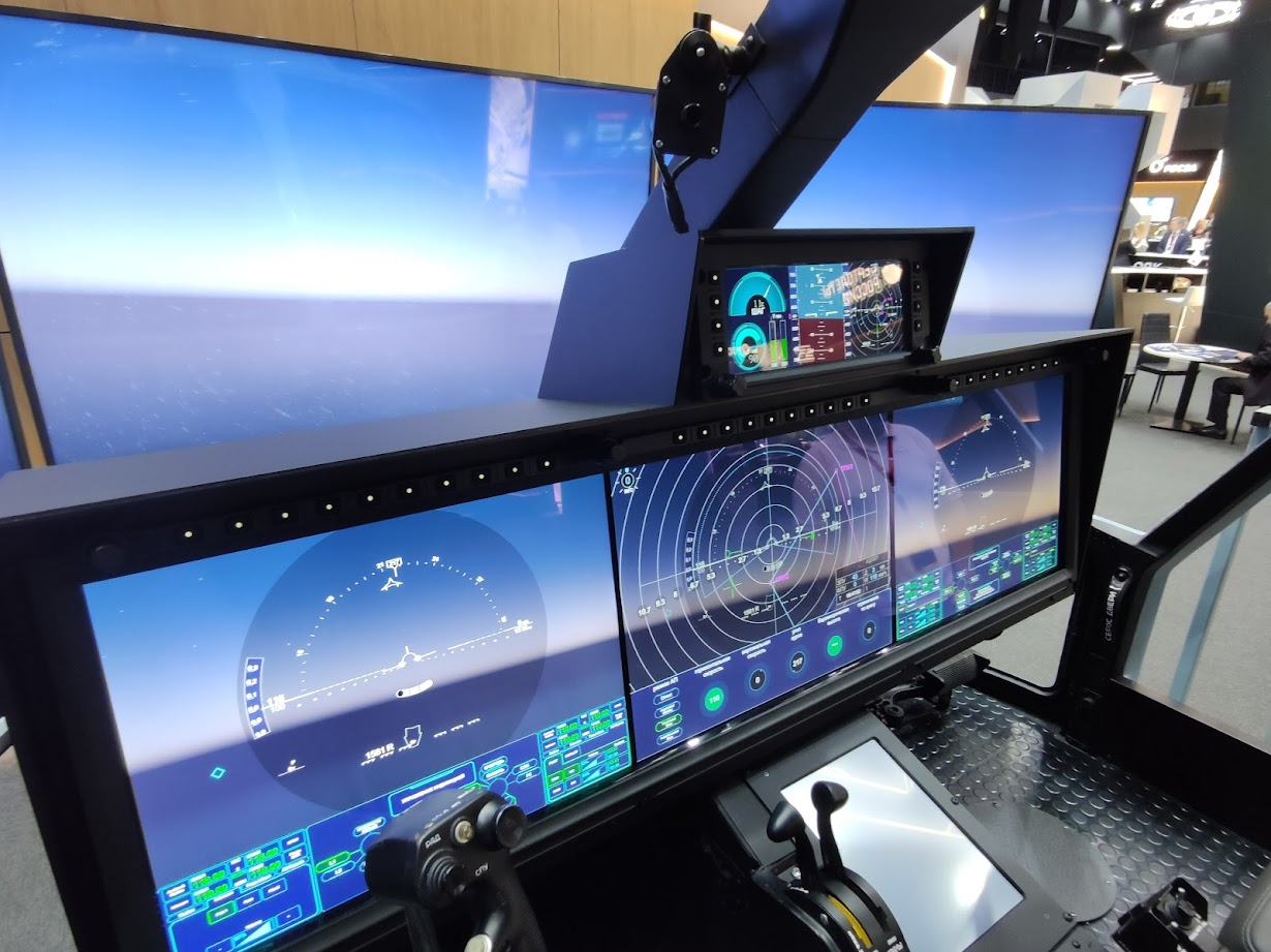 Russian Helicopters'' presented helicopter cockpit of the future at the forum Army-2021_flyEurope